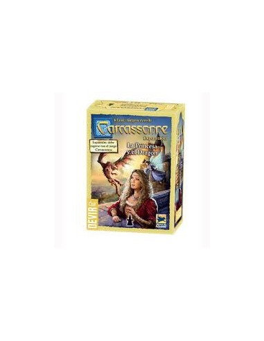 Carcassonne : The Princess and the Dragon