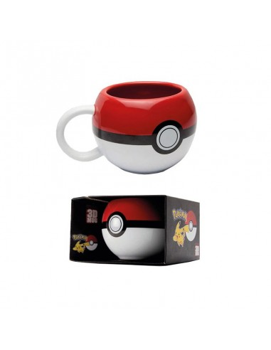 Taza Pokemon Pokeball 3D