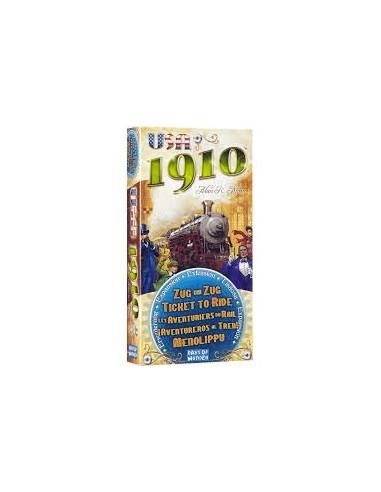 Aventureros al Tren : Usa 1910