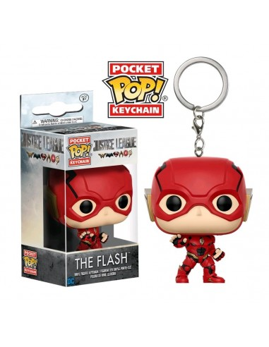 Llavero Pop The Flash. Justice League