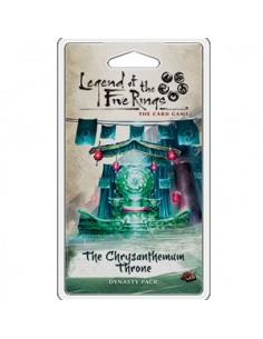 L5R Lcg: 1.4 The Chrisantemum Throne (Castellano) Preorder