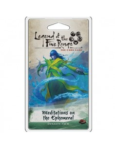 L5R Lcg: 1.6 Meditations on the Ephemeral (Ingles) Preorder