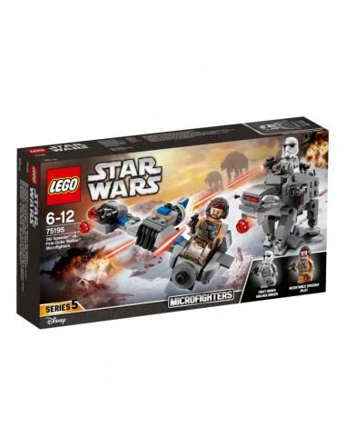 Lego Microfighters serie 5: Ski Speeder VS First Order Walker (75195)