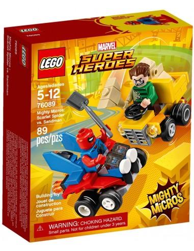 Lego MightyMicros: Scarlet Spider VS Sandman (76089)