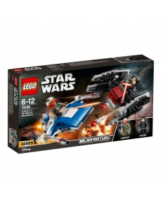 Lego Microfighters Serie 5: Ala A VS Tie Silencer (75196)