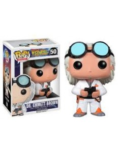 Pop Funko. Dr. Emmett Brown