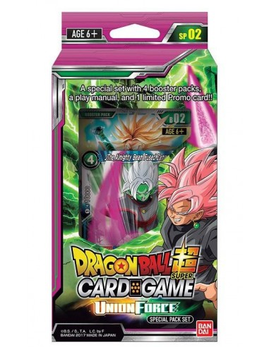 (Precompra) Dragon Ball Super TCG Special Pack Set Union Force