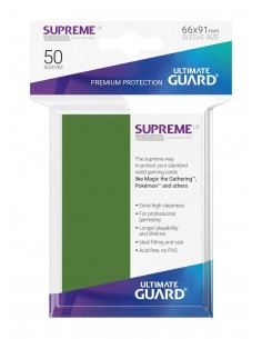 Fundas Ultimate Guard Supreme Verdes (50)
