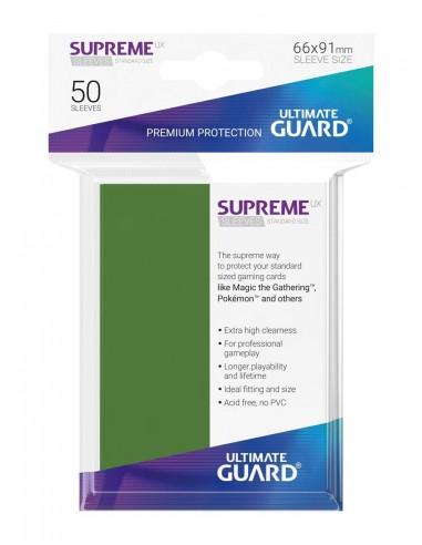 Fundas Ultimate Guard Supreme Verdes (50)