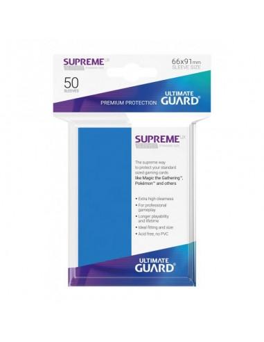 Fundas Ultimate Guard Supreme Azul Real (50)