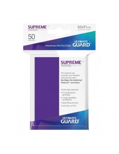 Fundas Ultimate Guard Supreme Moradas (50)