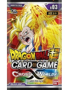 (Preorder) Dragon Ball Super TCG Cross Worlds: Sobre (12 Cartas)