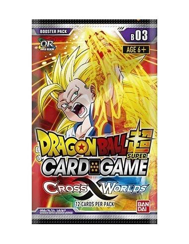 (Preorder) Dragon Ball Super TCG Cross Worlds: Sobre (12 Cartas)