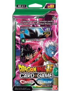 Dragon Ball Super Cross Worlds Special Pack Set