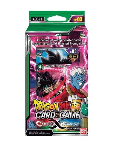Dragon Ball Super Cross Worlds Special Pack Set