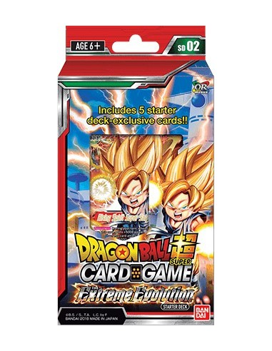 (Preorder) Dragon Ball Super TCG Starter Deck The Extreme Evolution