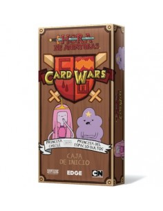 Card Wars Hora de Aventuras. Princesa Chicle VS Princesa del Espacio Bultos