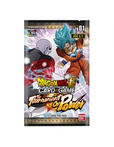 Ver más grande Dragon Ball Super TCGThe Tournament of Power: Sobre de cartas (12 cartas)