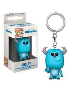 Llavero Pop Sulley. Monstruos Disney Pixar