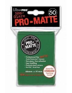 Fundas Pro Mate Verdes (66x91mm) (50)