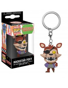 Pop Keychain Rockstar Foxy. Five Nights at Freddy´s