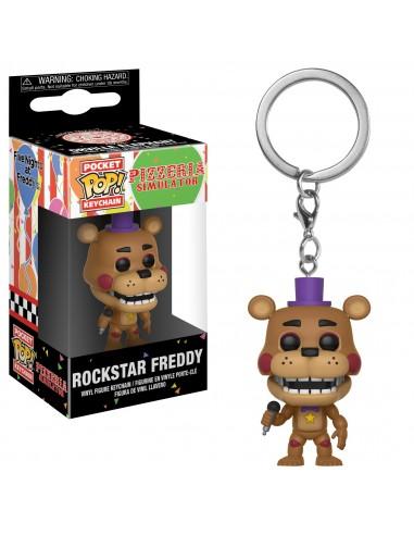 Llavero Pop Rockstar Freddy. Five Night at Freddy's