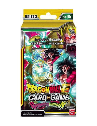 Dragon Ball Super TCG Starter Deck Crimson Saiyan