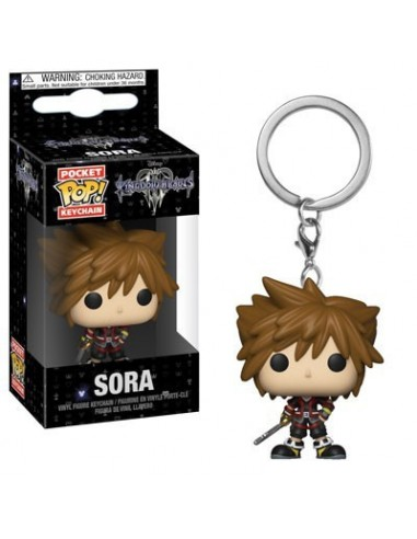 Llavero Pop Sora. Kingdom Hearts