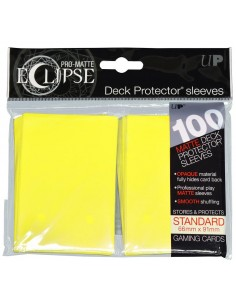 Sleeves Ultra Pro Eclipse Matte Yellow (66x91mm) (100)