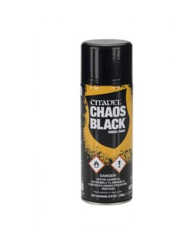 Spray de Imprimación Citadel. Color Negro
