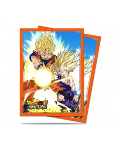 Fundas Ultra Pro Dragon Ball Super Father Son Kamehameha 63,5x91mm) (65)