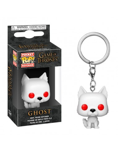 Pop Keychain Ghost. Game of Thrones