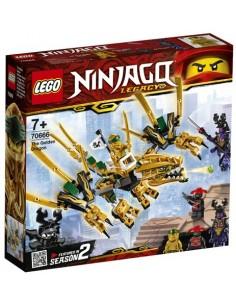 Lego Ninjago Legacy: Dragón Dorado 70666