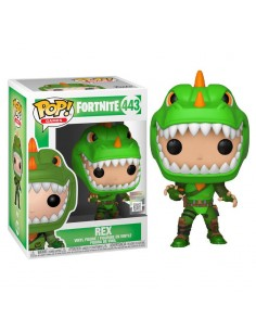 Pop Rex. Fortnite