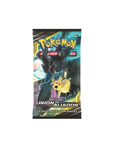 Pokemon Tcg: Sol y Luna Unión de Aliados Sobre