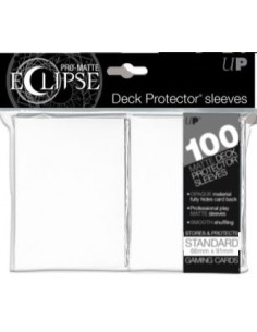 Sleeves Ultra Pro Eclipse Matte Artic White (66x91mm) (100)