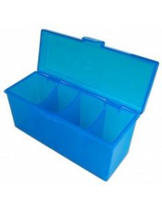 Deckbox 4 Compartimentos Blackfire Azul