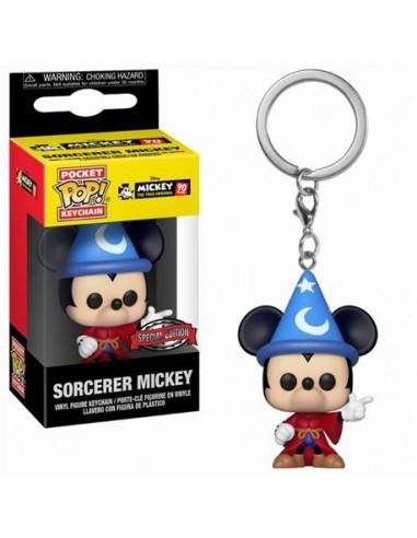 Keychain Pop Sorcerer Mickey. Mickey 90 Years