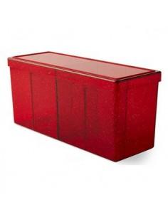Deckbox 4 Compartimentos Dragon Shield Roja