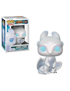 Pop Light Fury. Como Entrenar a tu Dragon
