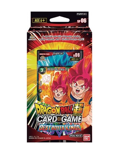 Dragon Ball Super TCG. Destroyer Kings. Special Pack