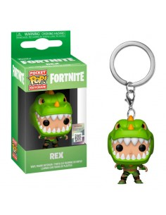 Pop Keychain Rex. Fornite