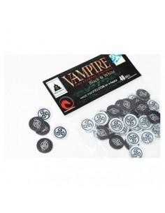 Vampire. Set 40 Tokens White and Black