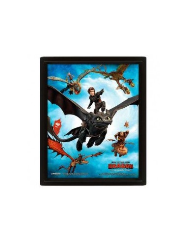 Poster 3D How to Train Your Dragon