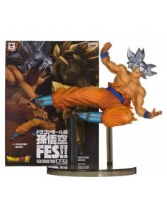 Figura Banpresto SonGoku Ultra Instinto. Dragon Ball Super