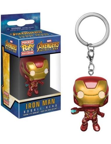 Llavero Pop Iron Man. Infinity War
