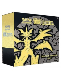 Pokemon Tcg: Caja de Entrenador de Élite. Luz Prohibida