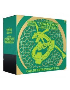 Pokemon Tcg: Caja de Entrenador de Élite. Tormenta celestial