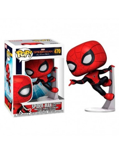 Pop Spiderman Upgraded Suit. Spiderman Far From Home