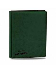 Pro Premium Binder Album 9 Bolsillos Verde